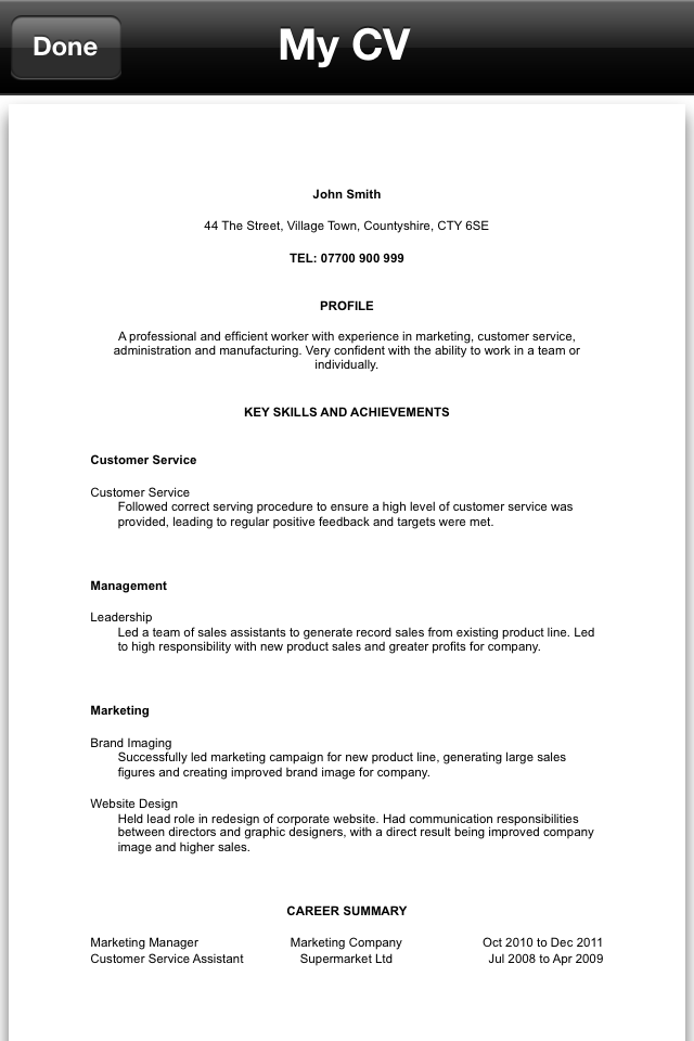 free resume builder download and print